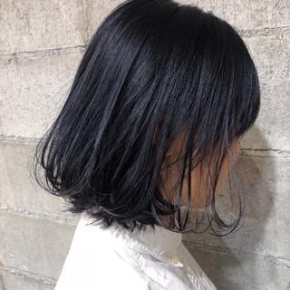 デート 外国人風カラー ボブ ウェーブ ヘアスタイルや髪型の写真・画像
