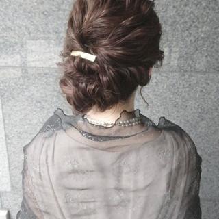 ミディアム ショート ハーフアップ 簡単ヘアアレンジ ヘアスタイルや髪型の写真・画像 ヘアスタイルや髪型の写真・画像