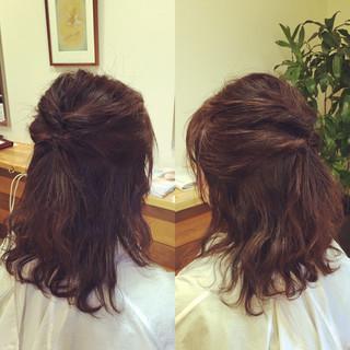 簡単ヘアアレンジ ボブ ヘアアレンジ ショート ヘアスタイルや髪型の写真・画像 ヘアスタイルや髪型の写真・画像