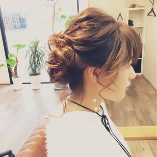 愛され モテ髪 ロング ヘアアレンジ ヘアスタイルや髪型の写真・画像