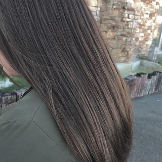 ロング 女子力 フェミニン オフィス ヘアスタイルや髪型の写真・画像