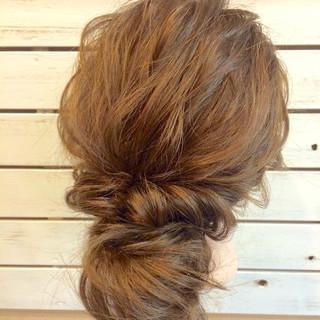 ヘアアレンジ アップスタイル ロング 大人かわいい ヘアスタイルや髪型の写真・画像