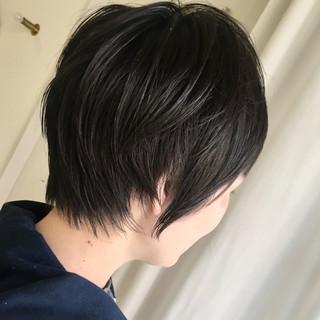 ナチュラル 小顔 似合わせ マッシュ ヘアスタイルや髪型の写真・画像