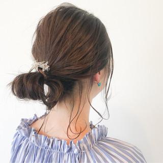 ナチュラル リラックス ミディアム イルミナカラー ヘアスタイルや髪型の写真・画像