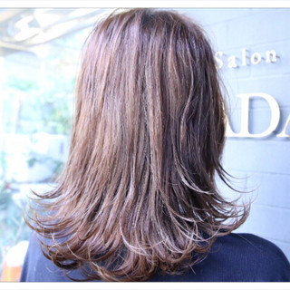 大人女子 大人かわいい モテ髪 アッシュ ヘアスタイルや髪型の写真・画像