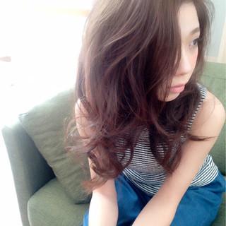 フェミニン 外国人風 ロング かっこいい ヘアスタイルや髪型の写真・画像