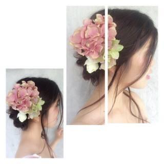 コンサバ モテ髪 ウェットヘア セミロング ヘアスタイルや髪型の写真・画像