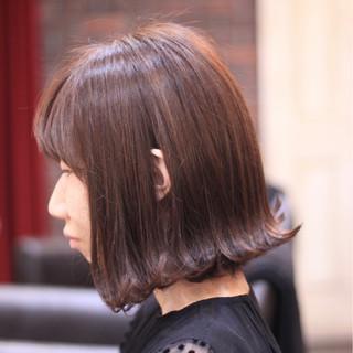 外ハネ 秋 透明感 モード ヘアスタイルや髪型の写真・画像