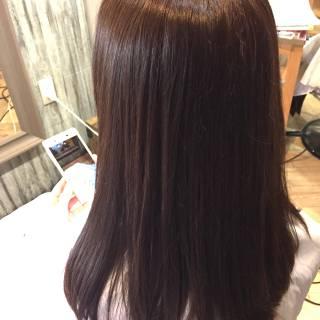 大人女子 艶髪 ショコラブラウン 秋 ヘアスタイルや髪型の写真・画像