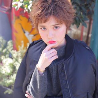 大人かわいい かっこいい ストリート 外ハネ ヘアスタイルや髪型の写真・画像