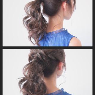 夏 ヘアアレンジ 簡単ヘアアレンジ 色気 ヘアスタイルや髪型の写真・画像 ヘアスタイルや髪型の写真・画像