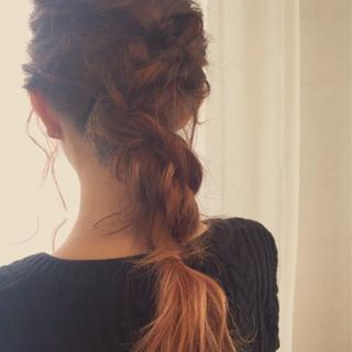 ロング ショート ニュアンス ゆるふわ ヘアスタイルや髪型の写真・画像