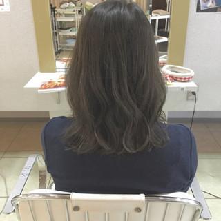 大人かわいい 外国人風 グラデーションカラー ミディアム ヘアスタイルや髪型の写真・画像