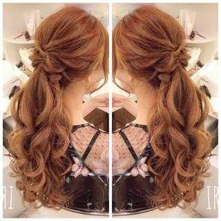 デート ロング 簡単ヘアアレンジ ヘアアレンジ ヘアスタイルや髪型の写真・画像 ヘアスタイルや髪型の写真・画像