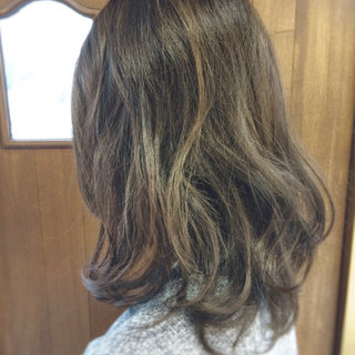 暗髪 ダークアッシュ アッシュ ナチュラル ヘアスタイルや髪型の写真・画像
