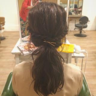 ピュア 波ウェーブ 簡単ヘアアレンジ 夏 ヘアスタイルや髪型の写真・画像 ヘアスタイルや髪型の写真・画像