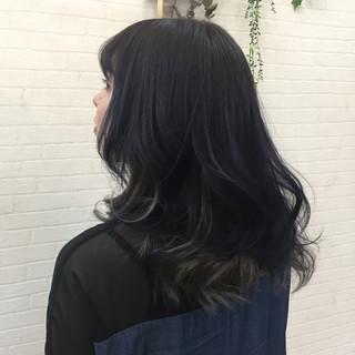 女子会 透明感 セミロング デート ヘアスタイルや髪型の写真・画像