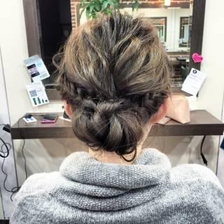 成人式 ナチュラル ヘアアレンジ 簡単ヘアアレンジ ヘアスタイルや髪型の写真・画像
