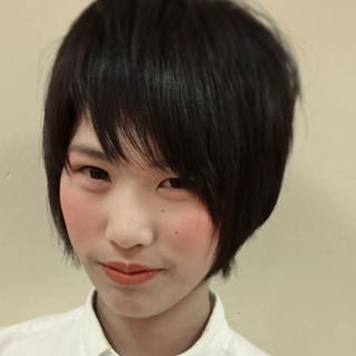 ピュア 黒髪 ストリート 暗髪 ヘアスタイルや髪型の写真・画像 ヘアスタイルや髪型の写真・画像