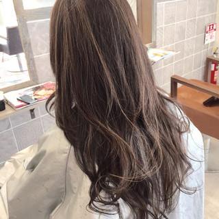 ハイライト 渋谷系 暗髪 モード ヘアスタイルや髪型の写真・画像