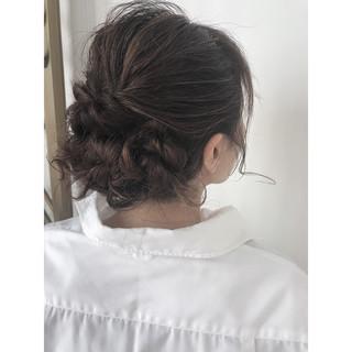 簡単ヘアアレンジ 結婚式 成人式 ヘアアレンジ ヘアスタイルや髪型の写真・画像
