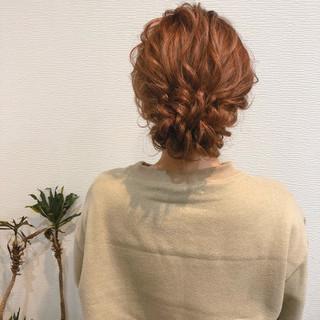 フェミニン ヘアセット アップスタイル アップ ヘアスタイルや髪型の写真・画像