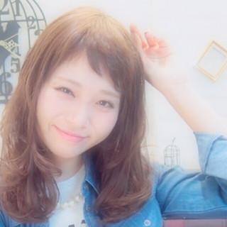 外国人風 ゆるふわ 大人かわいい ストリート ヘアスタイルや髪型の写真・画像