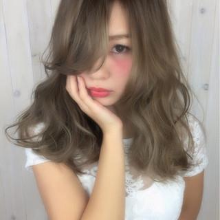 ピュア ゆるふわ ガーリー 外国人風 ヘアスタイルや髪型の写真・画像