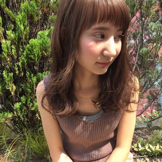 前髪あり ショートバング 大人かわいい アッシュ ヘアスタイルや髪型の写真・画像 ヘアスタイルや髪型の写真・画像