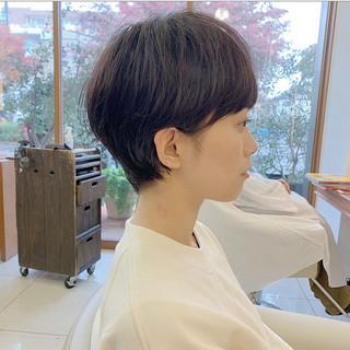 ショート ナチュラル ショートヘア  ヘアスタイルや髪型の写真・画像