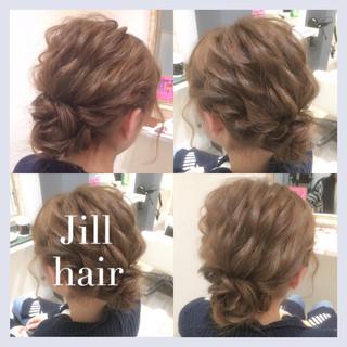 簡単ヘアアレンジ ボブ ヘアアレンジ 波ウェーブ ヘアスタイルや髪型の写真・画像 ヘアスタイルや髪型の写真・画像
