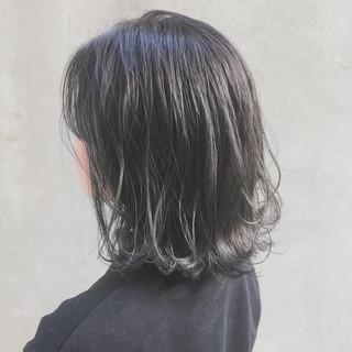 切りっぱなしボブ 大人かわいい 外国人風カラー ボブ ヘアスタイルや髪型の写真・画像