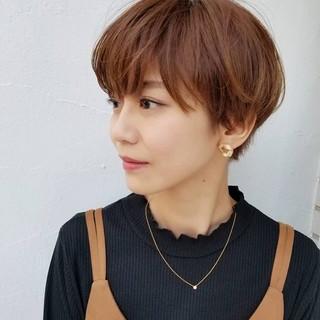 大人女子 オフィス モード マッシュ ヘアスタイルや髪型の写真・画像