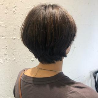 ハイライト ダブルカラー 銀座美容室 ナチュラル ヘアスタイルや髪型の写真・画像