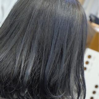 女子会 オフィス ボブ ナチュラル ヘアスタイルや髪型の写真・画像