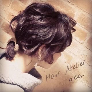 センターパート パンク ショート 春 ヘアスタイルや髪型の写真・画像