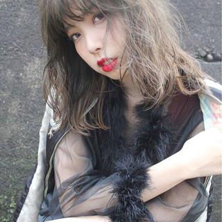 透明感 外国人風 大人女子 秋 ヘアスタイルや髪型の写真・画像