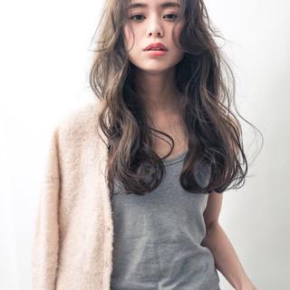 外国人風 ウェーブ 外国人風カラー ナチュラル ヘアスタイルや髪型の写真・画像