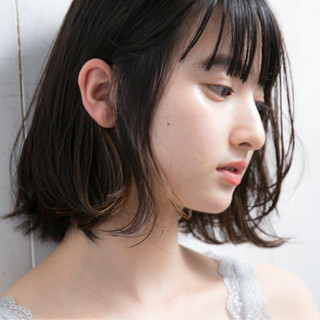 パーマ ストレート 縮毛矯正 インナーカラー ヘアスタイルや髪型の写真・画像