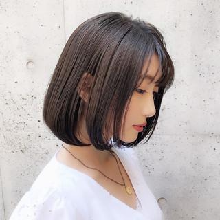 大人かわいい デート モテボブ ボブ ヘアスタイルや髪型の写真・画像 ヘアスタイルや髪型の写真・画像