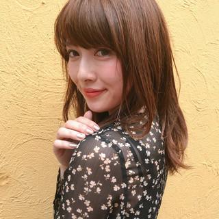 透明感 モテ髪 ヘアアレンジ オフィス ヘアスタイルや髪型の写真・画像