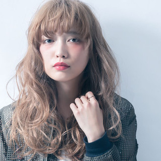 ストリート 外国人風 前髪あり 大人かわいい ヘアスタイルや髪型の写真・画像