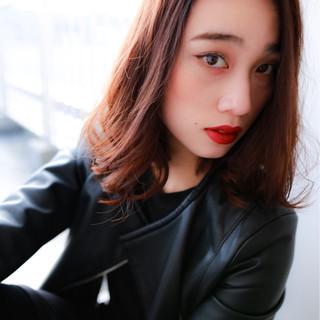 黒髪 暗髪 モード 大人女子 ヘアスタイルや髪型の写真・画像