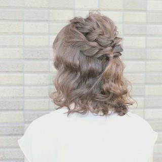 ショート ヘアアレンジ ミディアム 大人かわいい ヘアスタイルや髪型の写真・画像 ヘアスタイルや髪型の写真・画像
