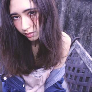 外国人風カラー 外国人風 グラデーションカラー 暗髪 ヘアスタイルや髪型の写真・画像