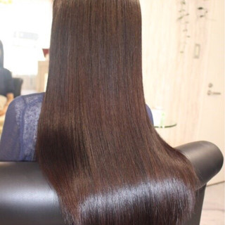 カラートリートメント ロング 黒髪 ナチュラル ヘアスタイルや髪型の写真・画像 ヘアスタイルや髪型の写真・画像