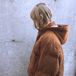 ハイトーン ガーリー ボブ ミルクティーベージュ ヘアスタイルや髪型の写真・画像