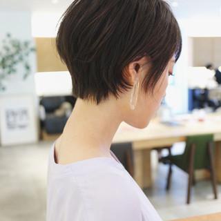 ショートヘア ウルフカット ショート ベリーショート ヘアスタイルや髪型の写真・画像