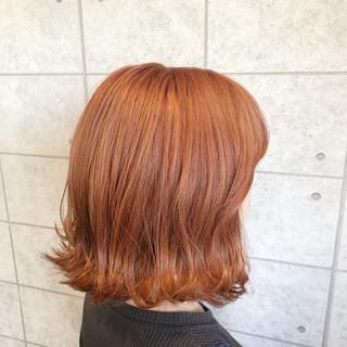 クリーミーカラー モード イルミナカラー ボブ ヘアスタイルや髪型の写真・画像
