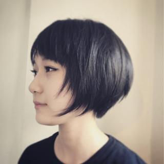 デート 女子会 黒髪 ナチュラル ヘアスタイルや髪型の写真・画像